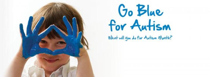Light it up Blue for World Autism AwarenessDay!