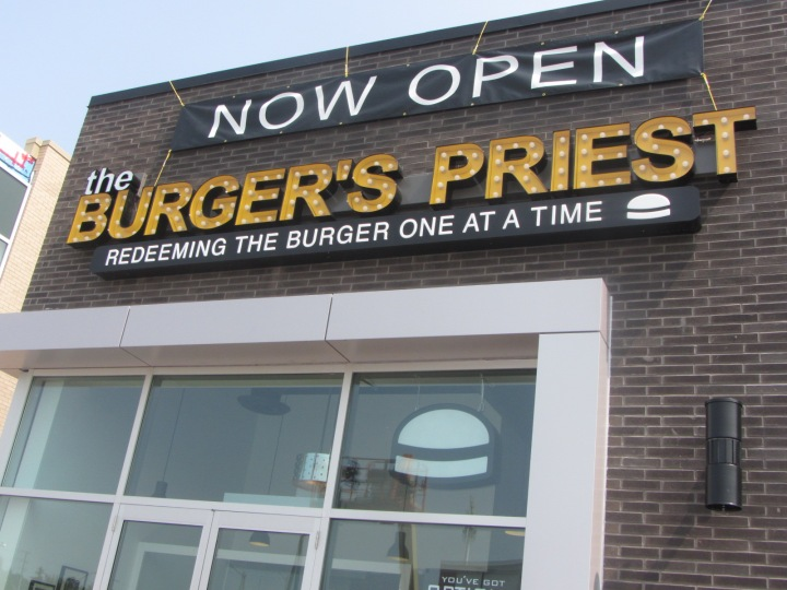 Food Files: My Burger's Priest Experience….