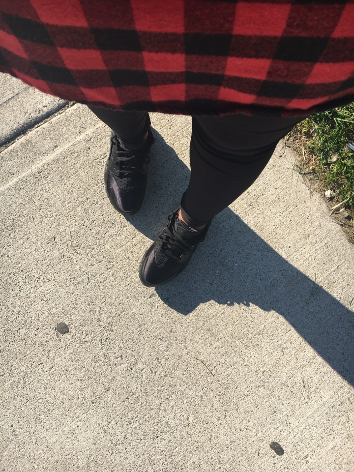 Style Sunday: Plaid and Huaraches…