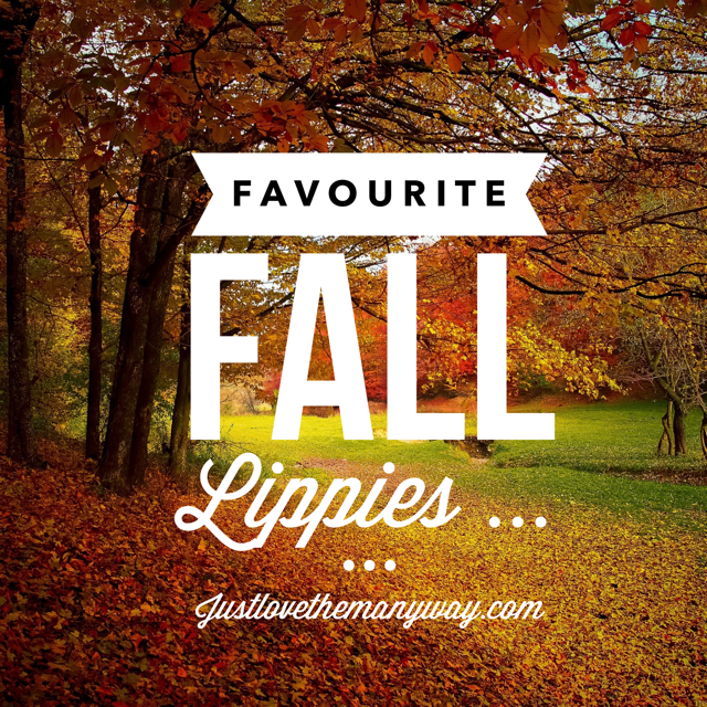 Beauty Blog: Favourite Fall Lippies!