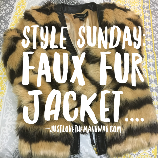 Style Sunday: The One With The Faux Fur Jacket…