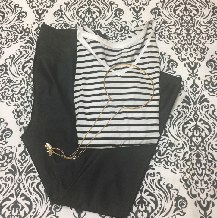 Style Sunday: Black and White Casual Outfit