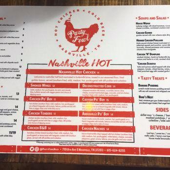 When in Nashville…. You Eat HotChicken…
