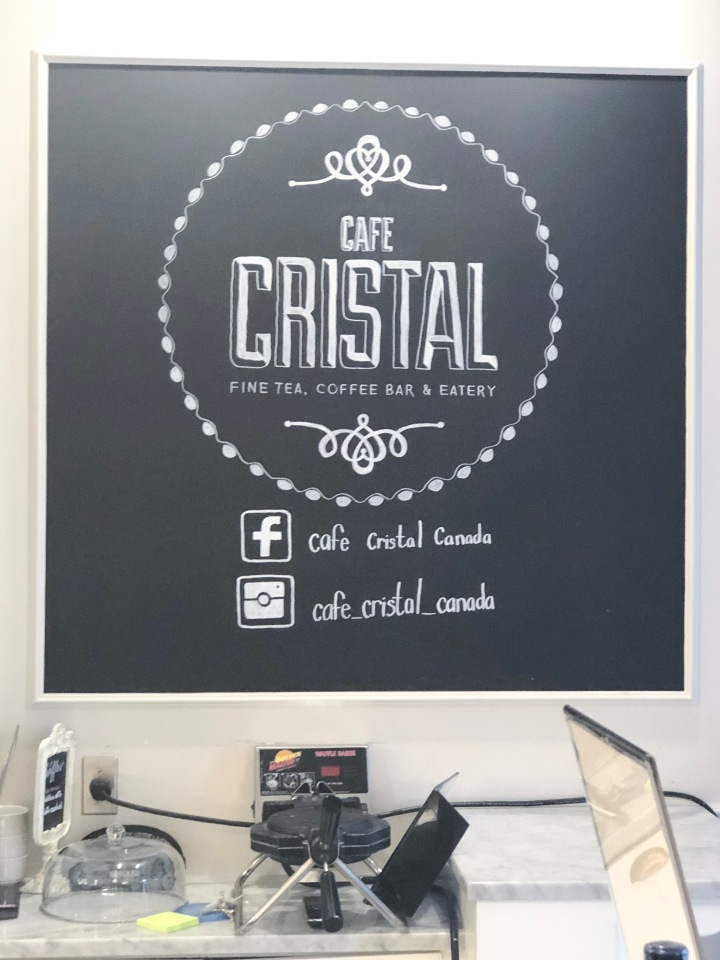 Tea and Crepes at CafeCristal…