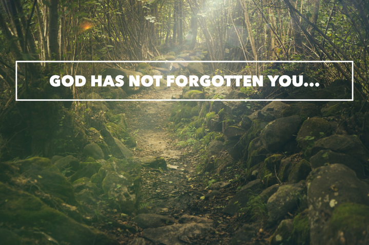 God Has Not Forgotten You…